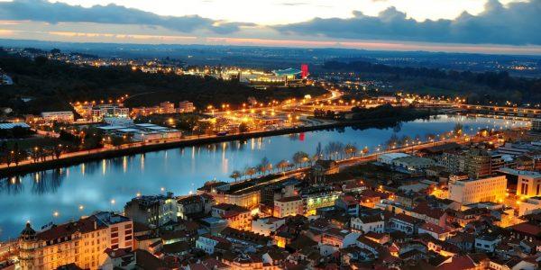Atardecer en Coimbra