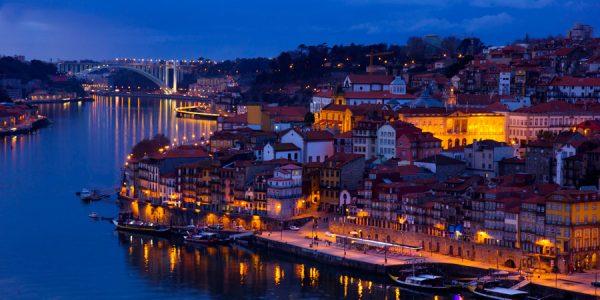 Atardecer en Oporto