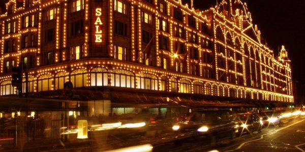 Iluminación navideña de Harrods