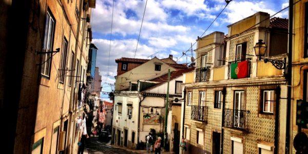 calles de Alfama