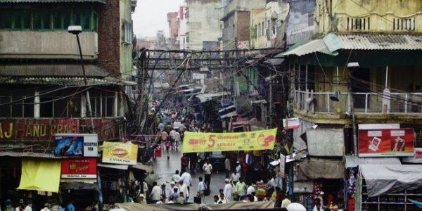 Calles Nueva Delhi
