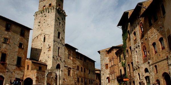 San Gimignano plaza